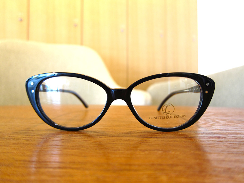 LUNETTE  KOLLECTION FRAULEINWUNDER(フレンワンダー)カラー:BLACK
