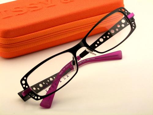 ISSY&LA EMILIE  color:100 ブラック/ピンク