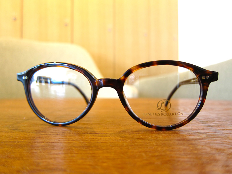 LUNETTE KOLLECTION OFF THE RECORD カラー:TORTOISE